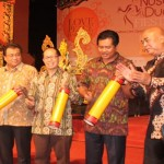 Wakil Gubernur Bali, I Ketut Sudikerta secara resmi membuka event tahunan Nusa Dua Fiesta ke XVIII, Jumat 9 Oktober 2015 - foto: Alit