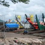 Dermaga Tongkang Pelabuhan Gilimanuk yang selama ini menjadi jalur masuk barang dari Pulau Jawa ke Bali. Akses ini juga menjadi jakur alternatif - foto: Koranjuri.com
