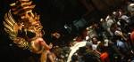 Ribuan Orang Saksikan Atraksi Ogoh-ogoh di Denpasar