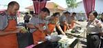 Meriahkan Hari Kartini, Puluhan Polisi Ikuti Lomba Masak