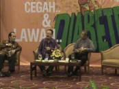 Talkshow  Cegah dan Lawan Diabetes yang diadakan Dinas Kesehatan DIY dalam memperingati Hari Kesehatan Dunia, 7 April 2016 - foto: Lanjar Artama/Koranjuri.com