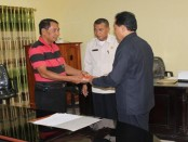 Serah terima jabatan di lingkungan Pemkab Rote Ndao kepada pelaksana tugas - foto: Isak Doris Faot/Koranjuri.com