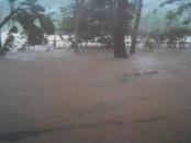 Hujan lebat yang terjadi Sabtu, 18 Juni 2016 mengakibatkan sejumlah desa di wilayah Purworejo, Jawa Tengah dilanda banjir - foto: istimewa