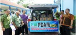 PDAM Salurkan Bantuan Korban Bencana Purworejo