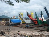 Dermaga Tongkang di pelabuhan Gilimanuk/Ilustrasi - foto: Wahyu Siswadi/Koranjuri.com