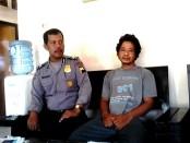 Widodo Raharjo, ayah bejat yang tega menggauli putri tirinya - foto: Sujono/Koranjuri.com
