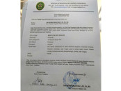 Akta permohonan grasi dari terpidana mati Merri Utami yang dibuat di PN Tangerang - foto: Istimewa