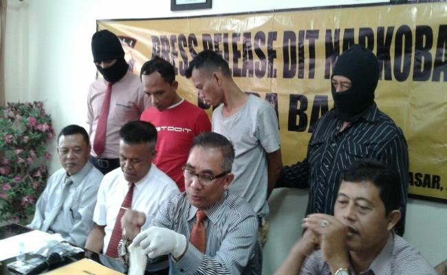 Jaringan narkoba yang Dioperatori Napi LP Kerobokan Dibongkar Polda Bali