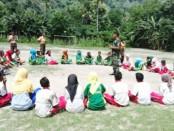 Wawasan Kebangsaan dan Bela Negara yang digiatkan kepada pelajar SMA Kristen 1 Kalabahi Kecamatan Teluk Mutiara, Kabupaten Alor, Nusa Tenggara Timur - foto: ist