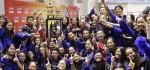 Tim Marching Band SMANSA Denpasar Raih Juara Umum Divisi Utama Langgam Indonesia XXIX 2016