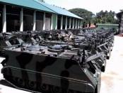 Ranpur tank M113 pasokan dari Mabes TNI AD di Batalyon Infanteri Mekanis 412 Purworejo – foto: Sujono/Koranjuri.com