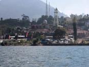 Kawasan wisata Danau Bratan yang merupakan lokasi wisata faforit di kawasan Bedugul - foto: Koranjuri.com