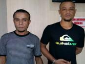 Dua pelaku jambret di Legian, Bali diamankan Polsek Kuta - foto: Istimewa