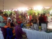 Peserta Progressive Alliance Seminar (PAS) di Bali diperkenalkan sistem Subak di Peguyangan, Denpasar - foto: Istimewa