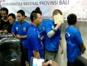 Penyalahguna narkoba yang ditangkap BNN Proinsi Bali, Jumat, 2 September 2016 - foto: Suyanto/Koranjuri.com