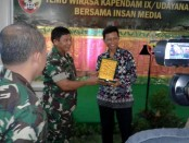 Acara Temu Wirasa Kapendam IX/Udayana bersama Insan Media, Jumat, 30 September 2016 - foto: Suyanto/Koranjuri.com