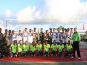 Turnamen Voli Pelajar se-Kabupaten Rote Ndao - foto: Isak Doris Faot