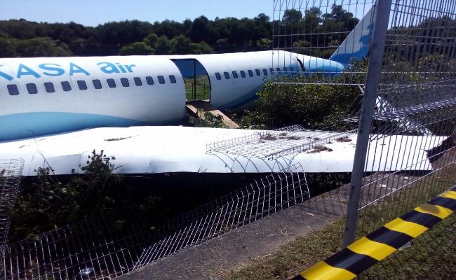 Penanganan Kecelakaan pesawat di Bandara Ngurah Rai