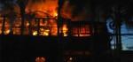 Diduga Akibat Ledakan Tabung Gas, Restoran La Sicilia Habis Dilalap Api