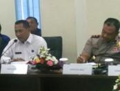 Kepala BNN RI, Komjen Pol Budi Waseso melakukan konsolidasi program Pencegahan, Pemberantasan, Penyalahgunaan dan Peredaran Gelap Narkoba (P4GN) serta evaluasi program BNN di kantor BNNP Bali, Jumat, 25 November 2016 – foto: Istimewa