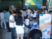 Pameran Perguruan Tinggi dan sosialisasi pendidikan di SMA Negeri 7 Denpasar - foto: Wahyu Siswadi/Koranjuri.com