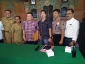 Mediasi permasalahan Tukar Guling Fasum dan Fasos Perumahan Permata Nusa Dua dengan PT ITDC bertempat di Aula Kantor Lurah Benoa, Senin, 28 Nove,ber 2016 - foto: Istimewa