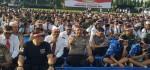 Nusantara Bersatu, Lapangan Renon 'Banjir' Pita Merah Putih