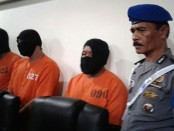 Ketiga pelaku pengeroyokan terhadap anggota Dit Sabara Polda Bali ditangkap tim Jatanras Polda Bali - foto: Suyanto