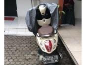 Barang bukti sepeda motor jenis matic yang dicuri 2 orang pelajar - foto: Istimewa