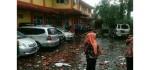 Puting Beliung Disertai Hujan Lebat Landa Salatiga, 3 Korban Luka