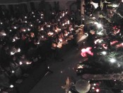 Perayaan ibadah malam natal di Gereja Maranatha Denpasar - foto: Koranjuri.com