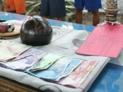 Barang bukti judi dadu kipyik yang diamankan - foto: Sujono/Koranjuri.com