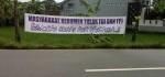 Spanduk Penolakan FPI Bermunculan di Kebumen