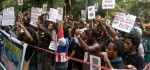 Mahasiswa Papua di Bali Demo Tolak Freeport