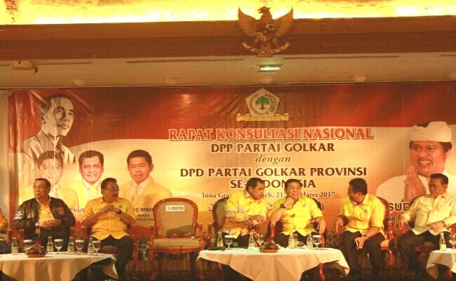 Partai Golkar Usung Jokowi di Pilpres 2019