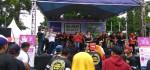 Kampanye Budaya Menabung di Road Show Bank Jateng Car Free Day