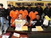 Jaringan pengedar narkoba kelas kakap yang berhasil ditangkap tim Direktorat Reserse Narkoba Polda Bali - foto: Istimewa