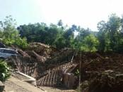 Longsor yang terjadi di Desa Banaran, Kecamatan Pulung, Kabupaten Ponorogo, Sabtu (1/4/2017) pagi tadi sekitar pukul 07.40 WIB - foto: BPBD Kabupaten Ponorogo