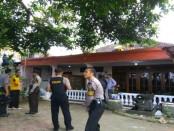 Rumah Hartono, Wakil Rektor UMP yang dirampok, Selasa (18/4) pagi, di Desa Candisari, Banyuurip - foto: Sujono/Koranjuri.com