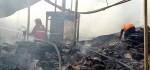 Gudang Kardus Bekas di Antasura, Denpasar Ludes Terbakar