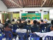 Sosialisasi peningkatan SDM pada TMMD Reguler 98 tahun 2017 di Wonosido, Pituruh, Kabupaten Purworejo – foto: Sujono/Koranjuri.com