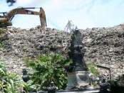 Sampah di TPA Suwung Denpasar - foto: Wahyu Siswadi/Koranjuri.com