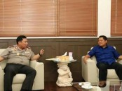 Walikota Denpasar, Ida Bagus Rai Dharmawijaya Mantra  bertemu dengan Kapolda Bali, Irjen Pol. Petrus R. Golose , Rabu, 12 April 2017 - foto: Istimewa