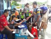 Razia gabungan dalam Operasi Patuh di Polres Kebumen - foto: Sujono/Koranjuri.com