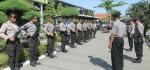Sambut Kapolda, Polres Kebumen Siapkan Regu Jarmat Bersenjata