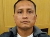 Yose William Selasar Ortis, tahanan dalam kasus pembobolan ATM dengan Las, melarikan diri ketika menunggu persidangan di PN Denpasar, Selasa, 16 Mei 2017 - foto: Istimewa