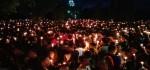 Bule pun Turut Menyalakan Lilin untuk Ahok di Lapangan Puputan Bali