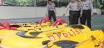 Antisipasi Musim Penghujan, Polres Kebumen Siapkan Perahu Karet