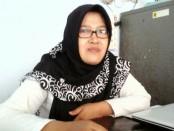 Minarniningsih, SE, Kasi Hubungan Industrial dan Syarat Kerja dari Dinperinaker Kabupaten Purworejo - foto: Sujono/Koranjuri.com