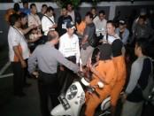 Rekonstruksi kasus tewasnya anggota TNI Prada Yanuar Setiawan - foto: Suyanto/Koranjuri.com